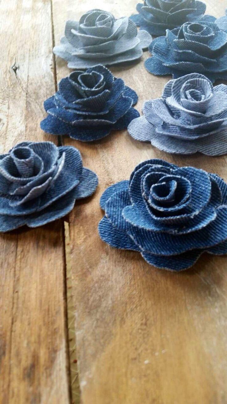 Пошаговые инструкции для создания цветов из джинсовой ткани