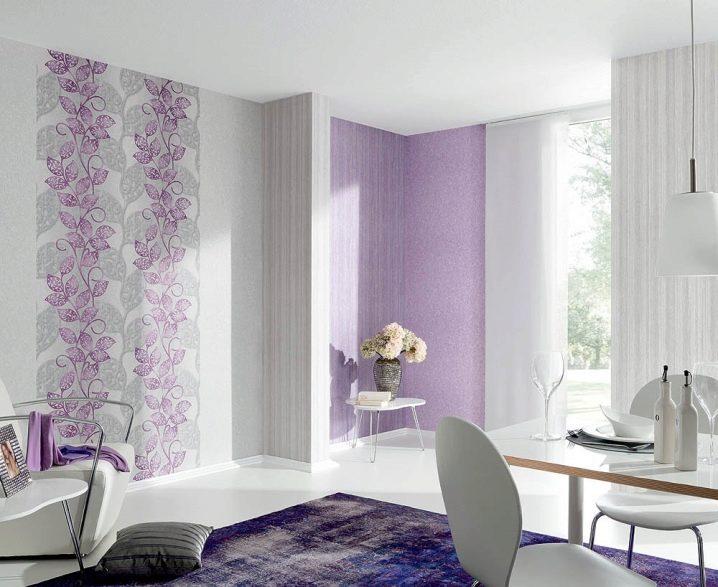 Обои в интерьере квартиры +75 фото примеров дизайна стен