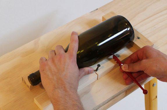 Как разрезать бутылку идеально ровно? 75 фото и видео приспособлений резки стекла и пластика