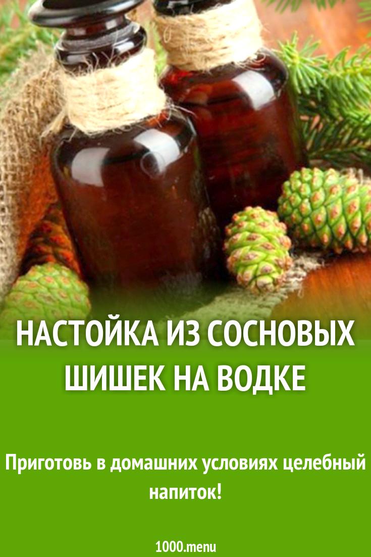Настойка из шишек сосны на водке. 9 рецептов, польза, применение