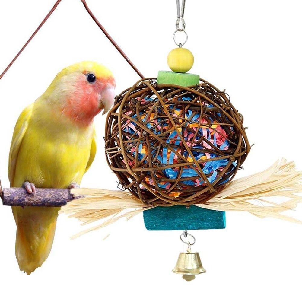 Развивающие игрушки для попугаев: мастер-класс по изготовлению своими руками с фото