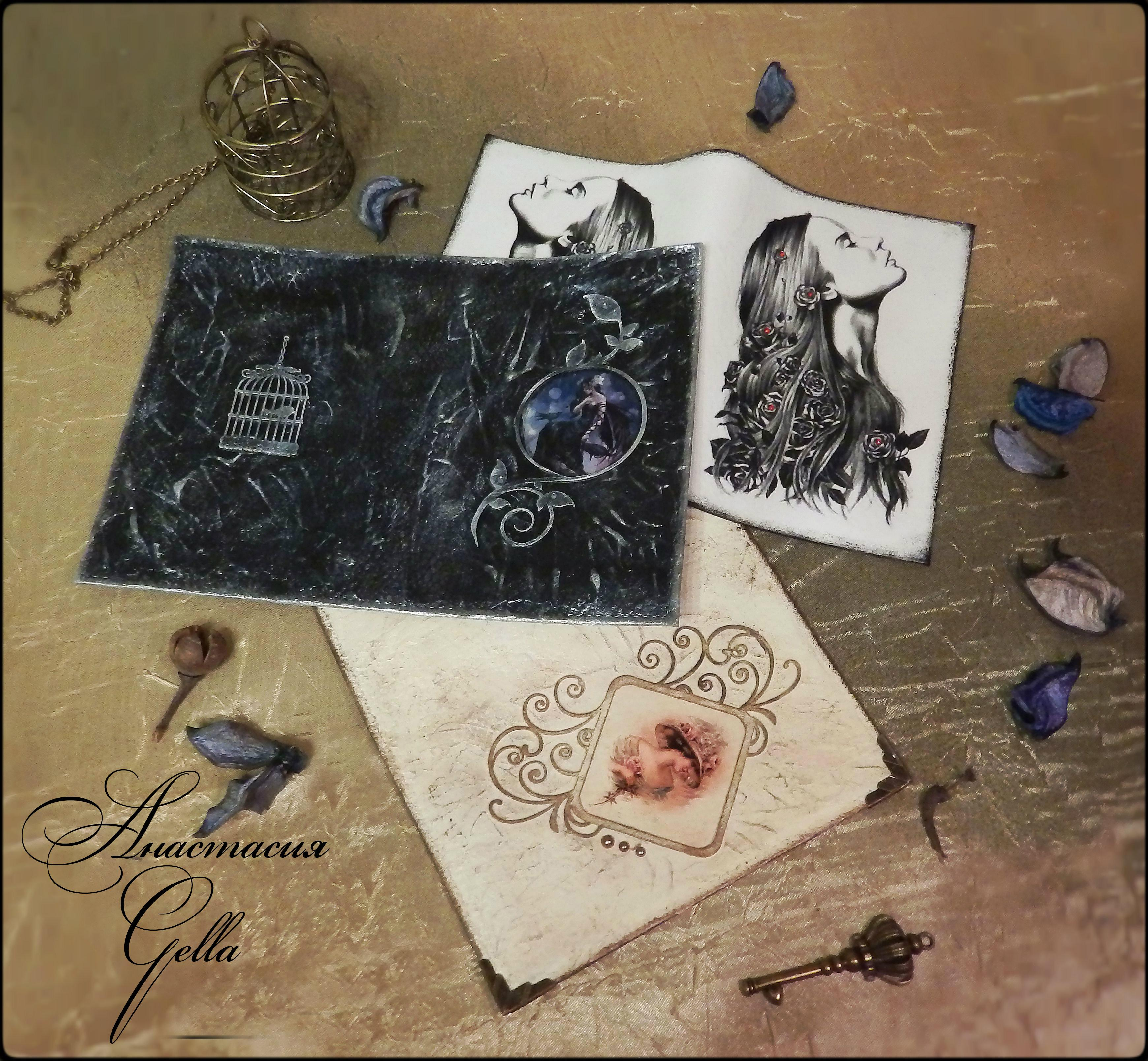Декор предметов 23 февраля 8 марта день рождения декупаж обложки на паспорт декупаж бумага краска салфетки