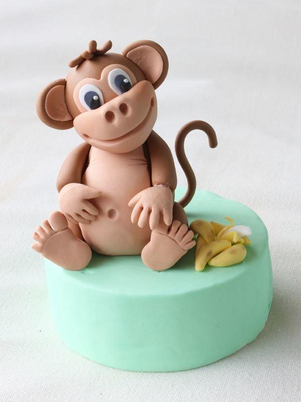 Лепим милую обезьянку - своими руками