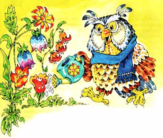 Сказка про сову | сказки онлайн читать | сказочный домик