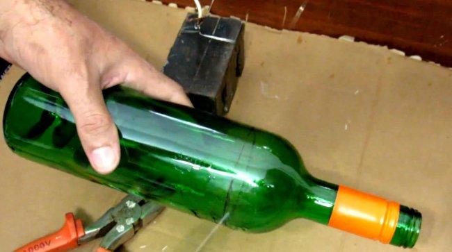 Как разрезать бутылку — обзор самых простых способов и методов как разрезать пластиковые и стеклянные бутылки (125 фото)