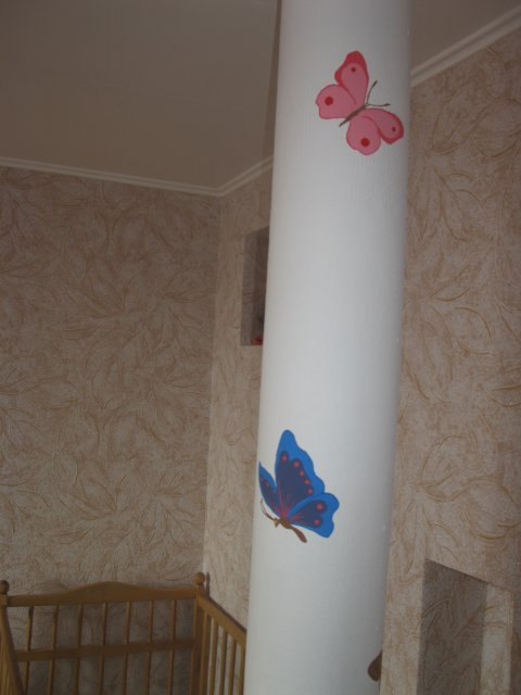 Декор труб внутри квартиры
