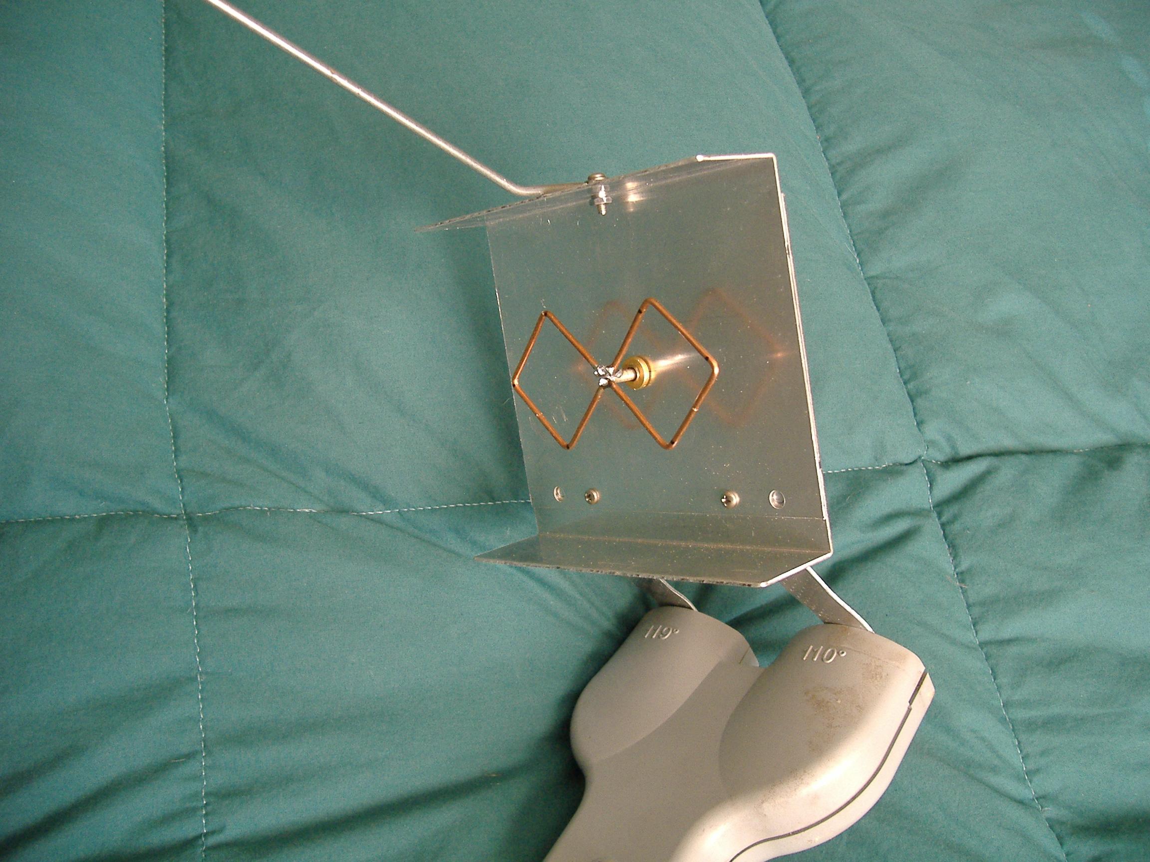 Самодельная антенна для wi-fi-роутера двойной квадрат