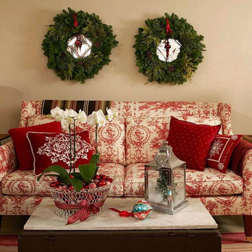 Новогодний декор дома и квартиры своими руками +70 идей на фото