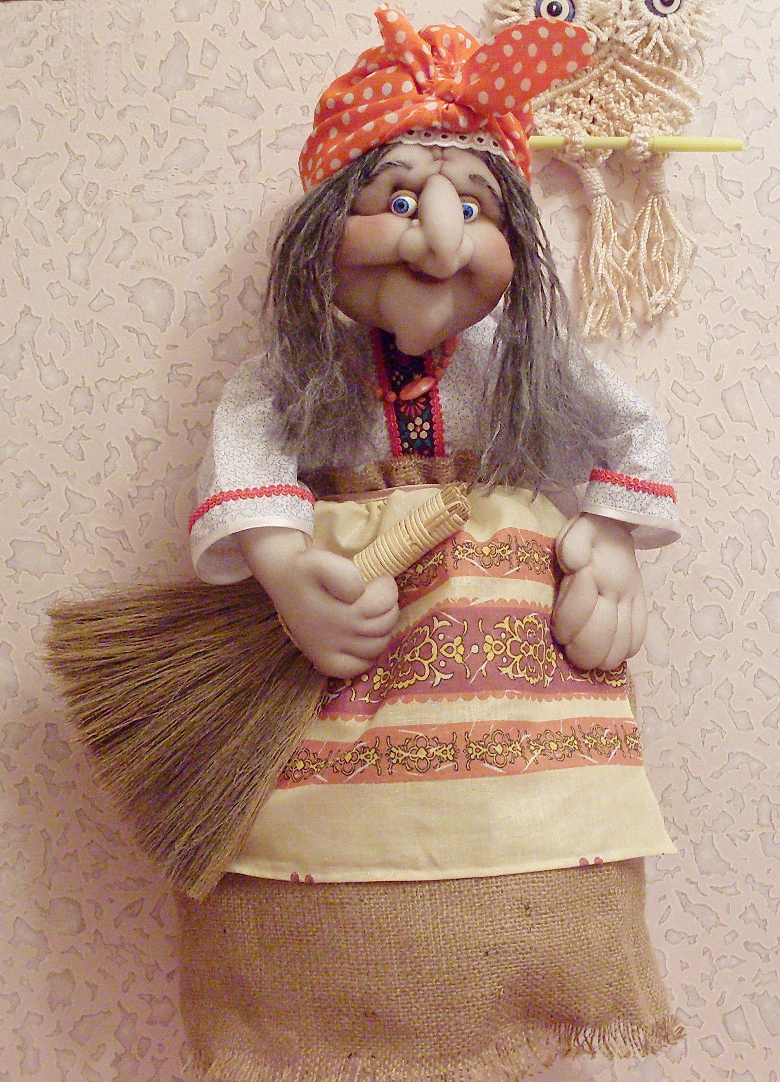 Оберег баба яга — значение для дома, славянский символ