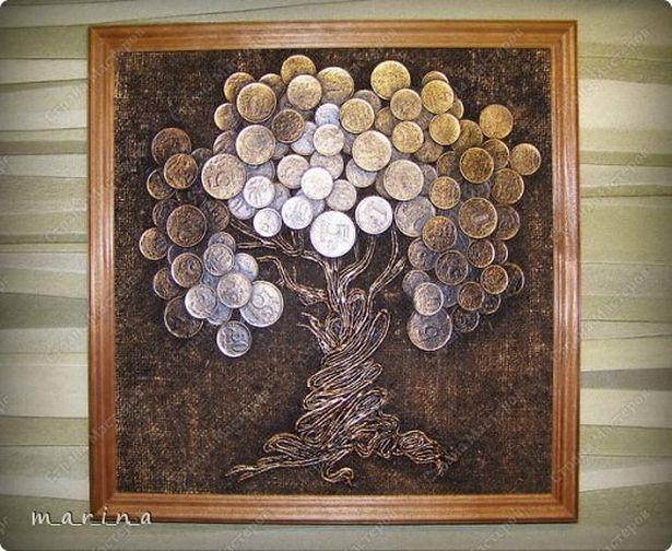 Денежное дерево измонет: сильный талисман набогатство своими руками