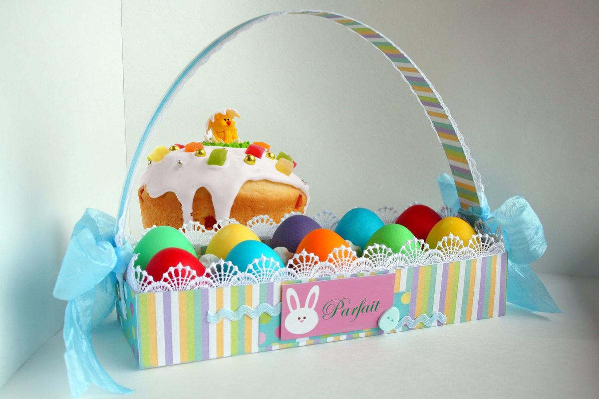 Корзинка для пасхальных яиц своими руками: материалы, изготовление, идеи