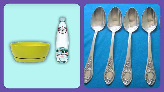 Простые, но эффективные средства для чистки мельхиора