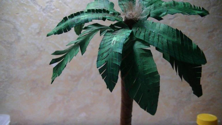 Пальма из пластиковых бутылок: как сделать своими руками, материалы, инструкция с фото