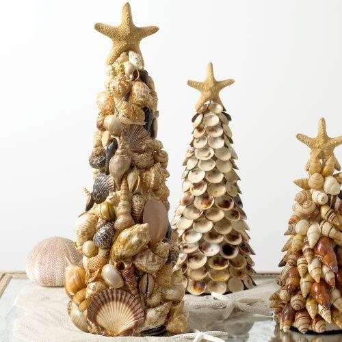 Елка из ракушек. новогодняя игрушка на елку из морской ракушки новогодняя елка из ракушек своими руками