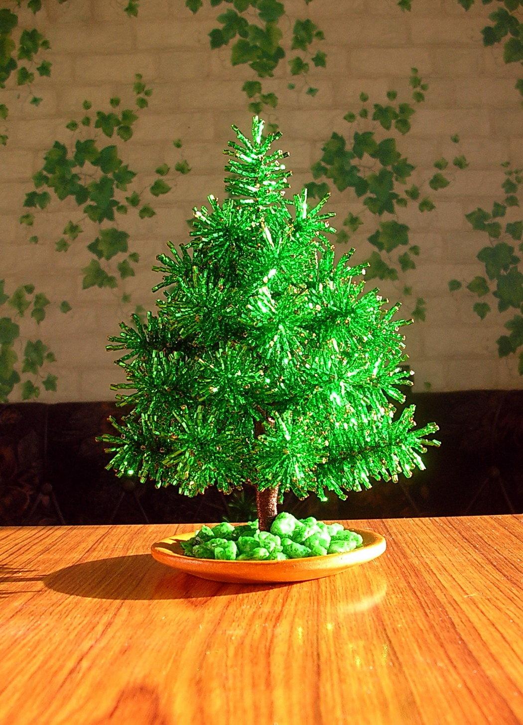 Бонсай топиарий ёлка мастер-класс новый год рождество моделирование конструирование елки разные важны елки разные нужны  елки из атласных лент и капрона  продолжаю набирать пифочек добро пожаловать  капрон картон ленты проволока