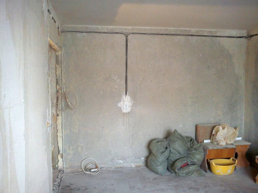 Замена потолочной электро проводки