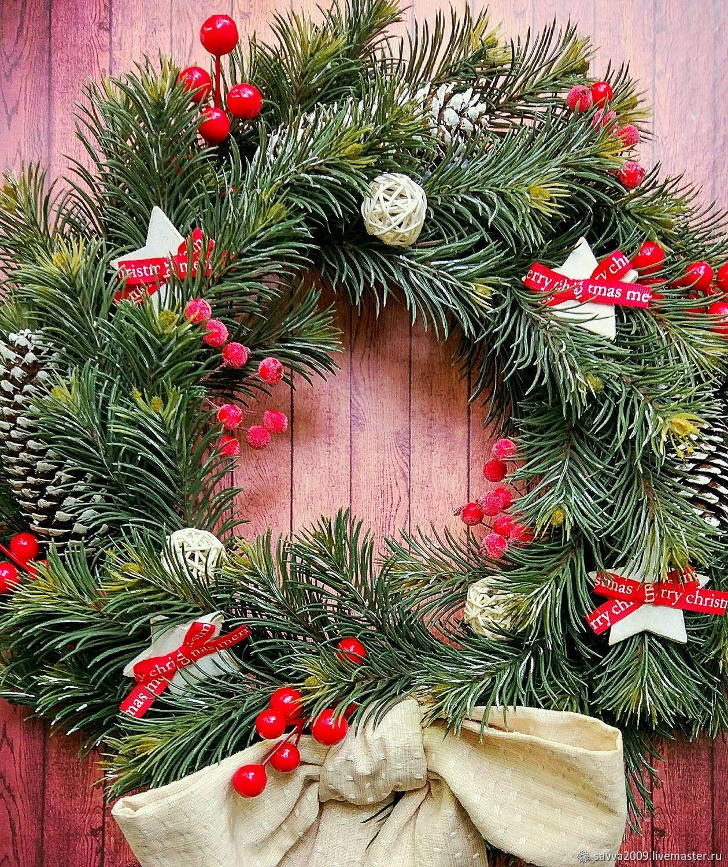 Новогодний рождественский венок: символ рождества и его происхождение