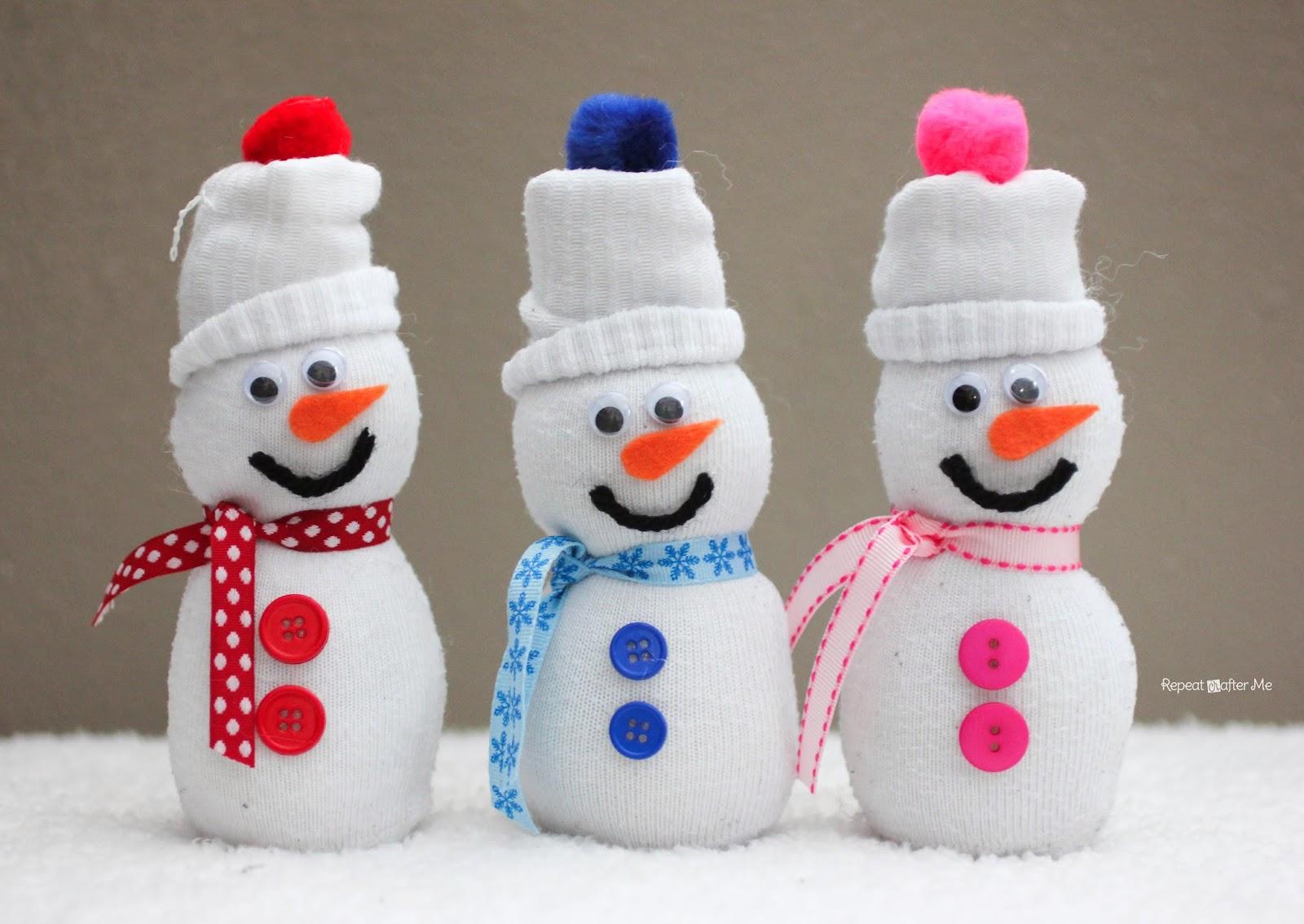 Снеговик своими руками: из бумаги, ваты, ниток, подручных материалов - как сделать снеговика своими руками в домашних условиях