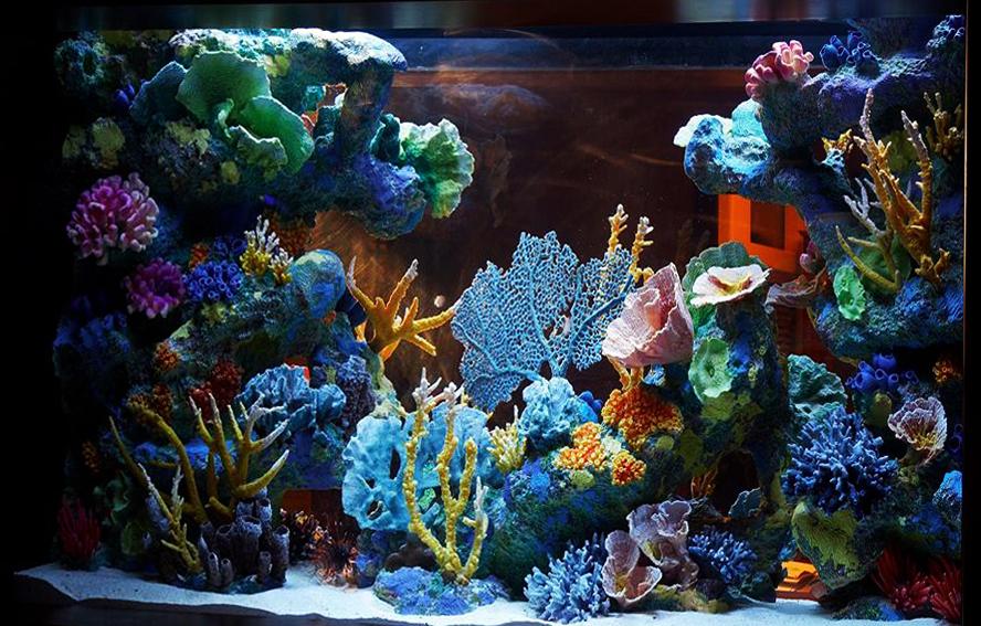Кораллы для аквариума своими руками. кораллы для морской свадьбы своими руками поделки из кораллов своими руками