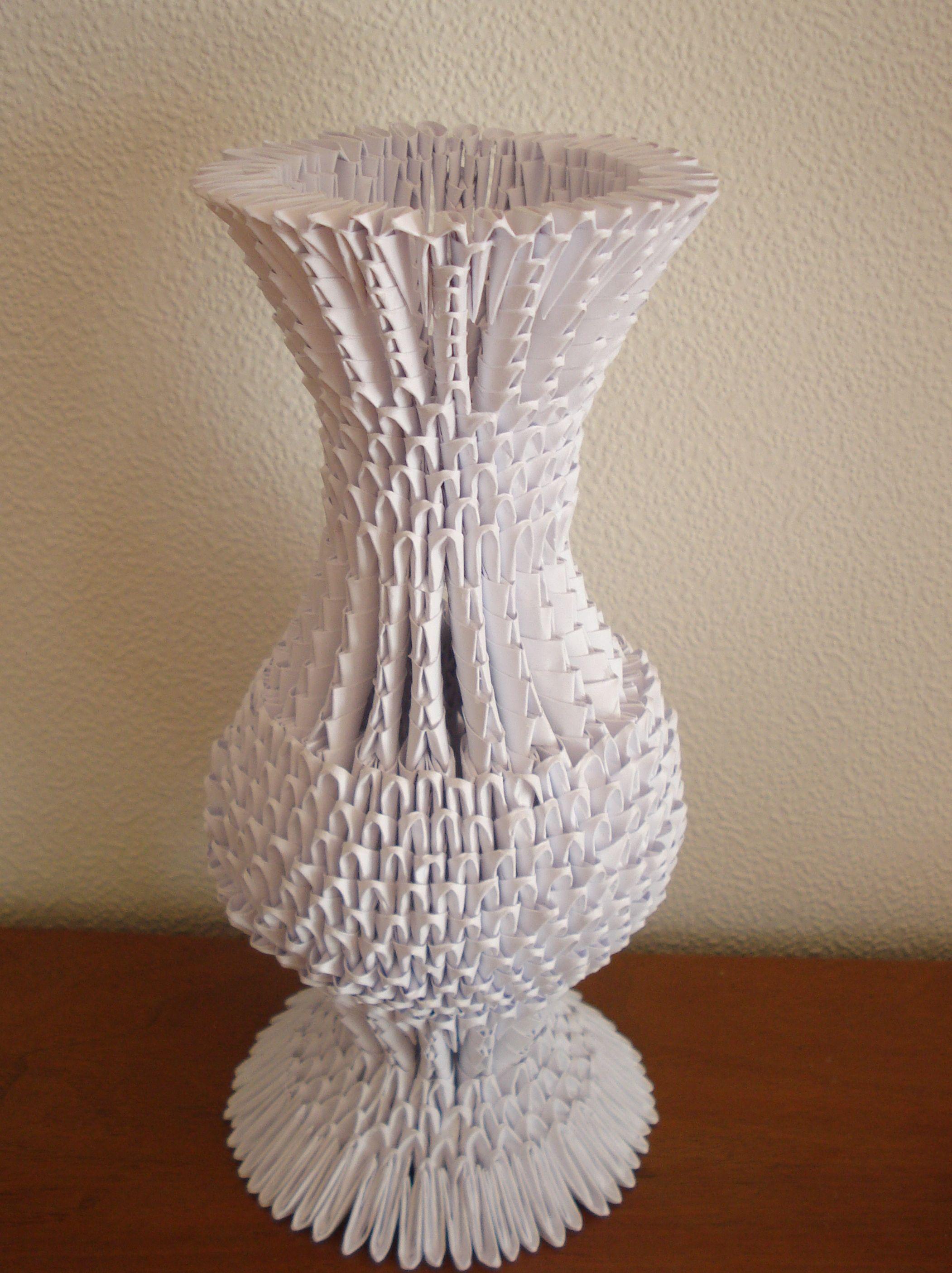 Модульное оригами вазы своими руками (125 фото): инструкция + мастер-класс для начинающих