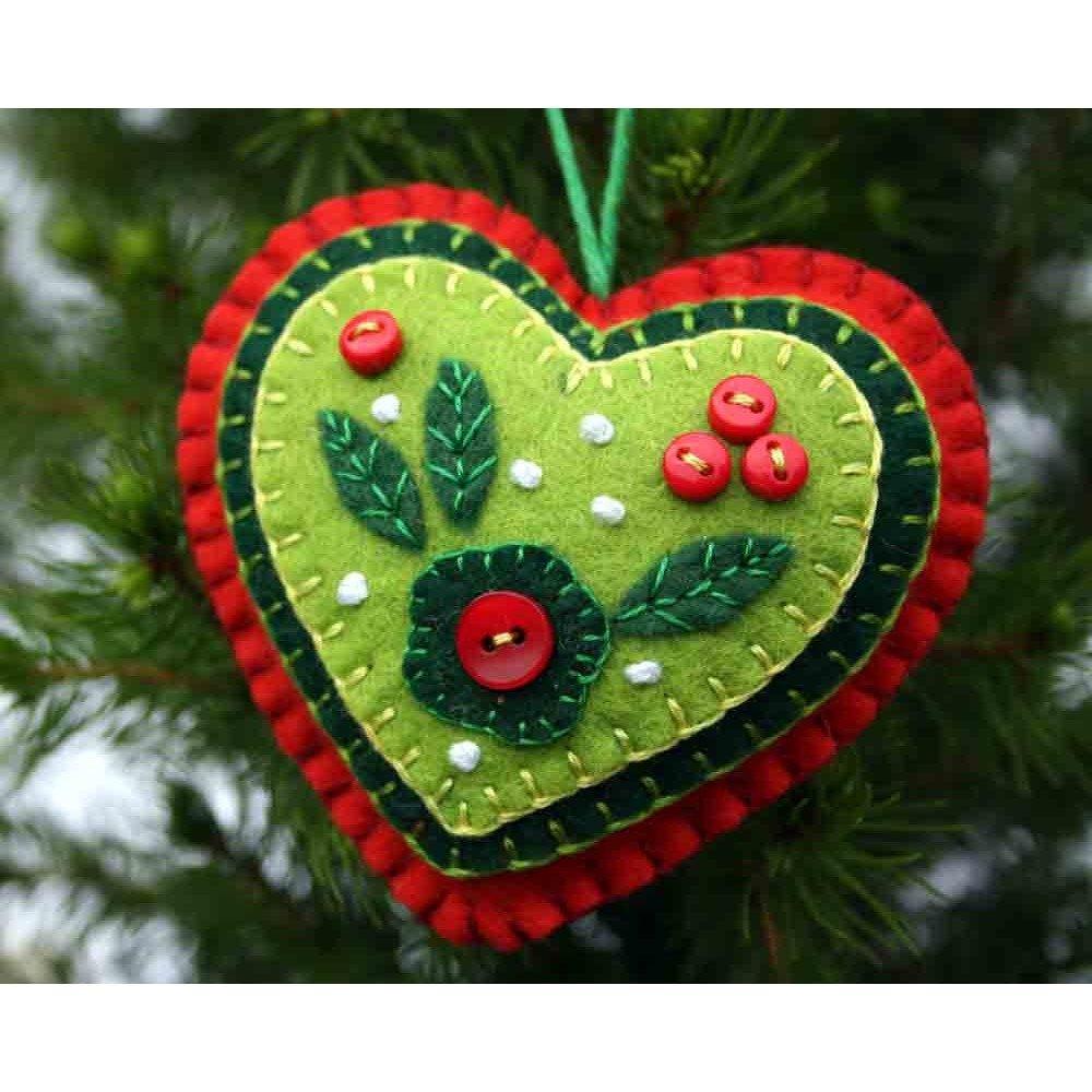 Поделки из фетра на новый год: сделать своими руками елку, сапожок, звезду и другие игрушки | все о рукоделии