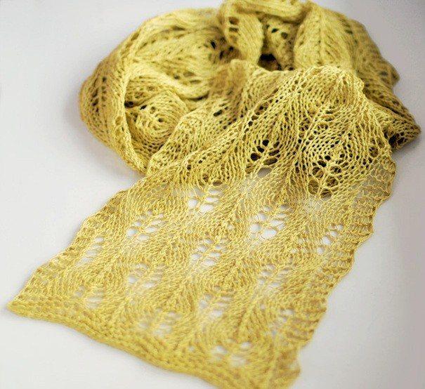 Шарф спицами, 44 модели с описанием и схемами вязания,  вязание для детей