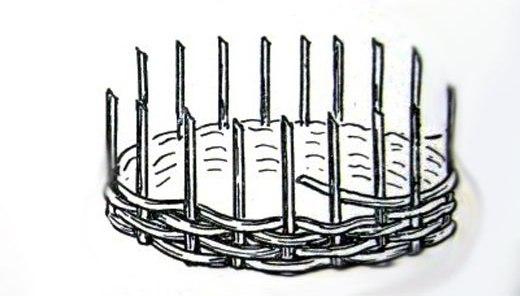 Технология плетения из лозы: заготовка прутьев, мастер-класс для начинающих, изготовление корзины пошагово