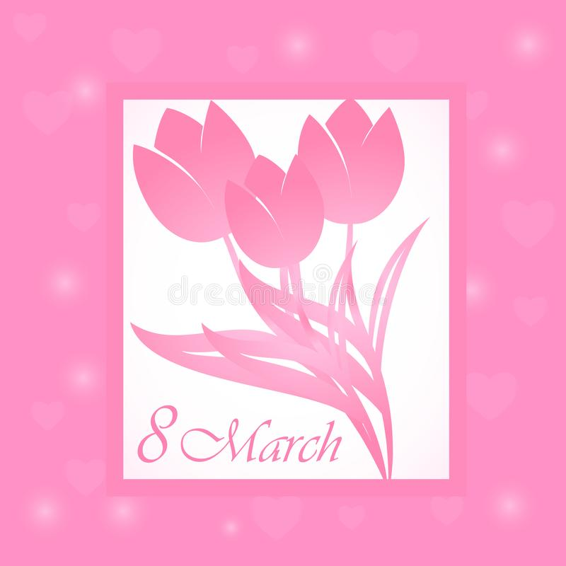 Красивые открытки на 8 марта своими руками из бумаги в детский сад и школу