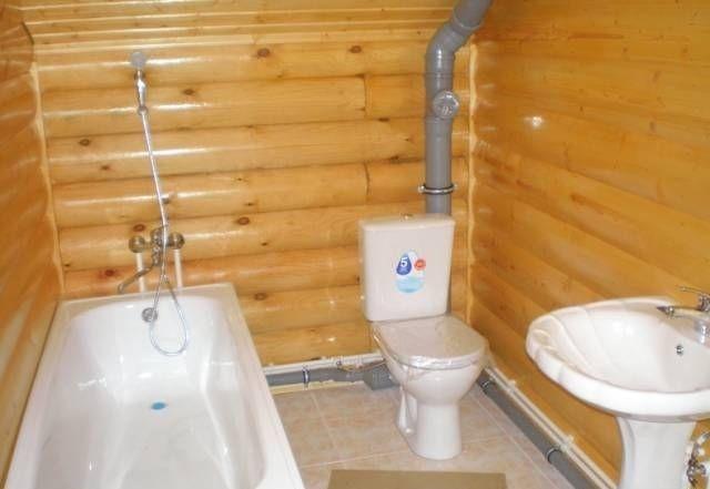 Как сделать отделку санузла в деревянном доме плиткой и пластиковыми панелями +фото и дизайн: интересные идеи +видео