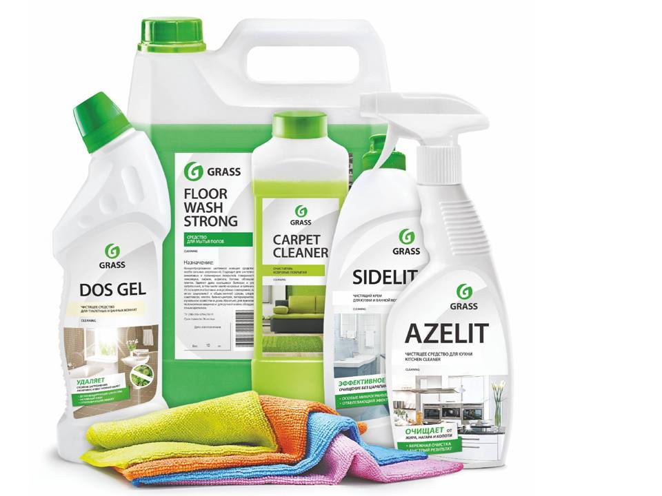 Выбираем экологичные средства для уборки и стирки