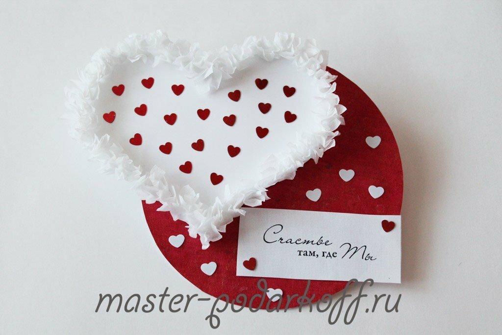 Валентинки своими руками: пошаговые схемы с фото