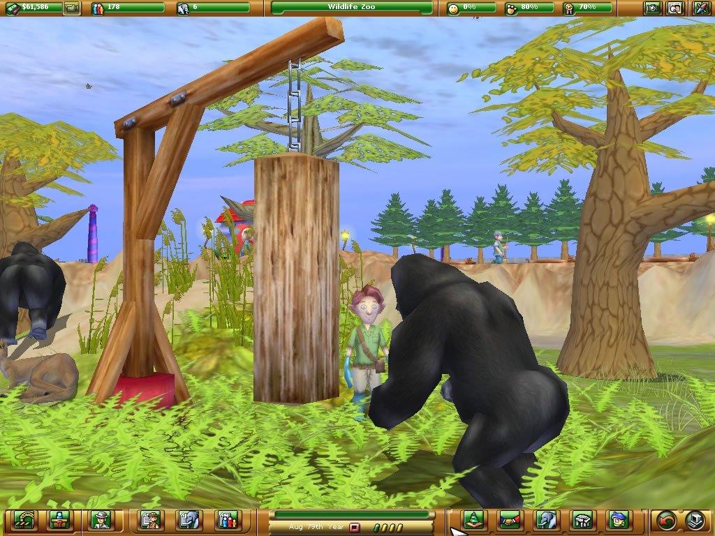 Развивающая игра «Зоопарк»