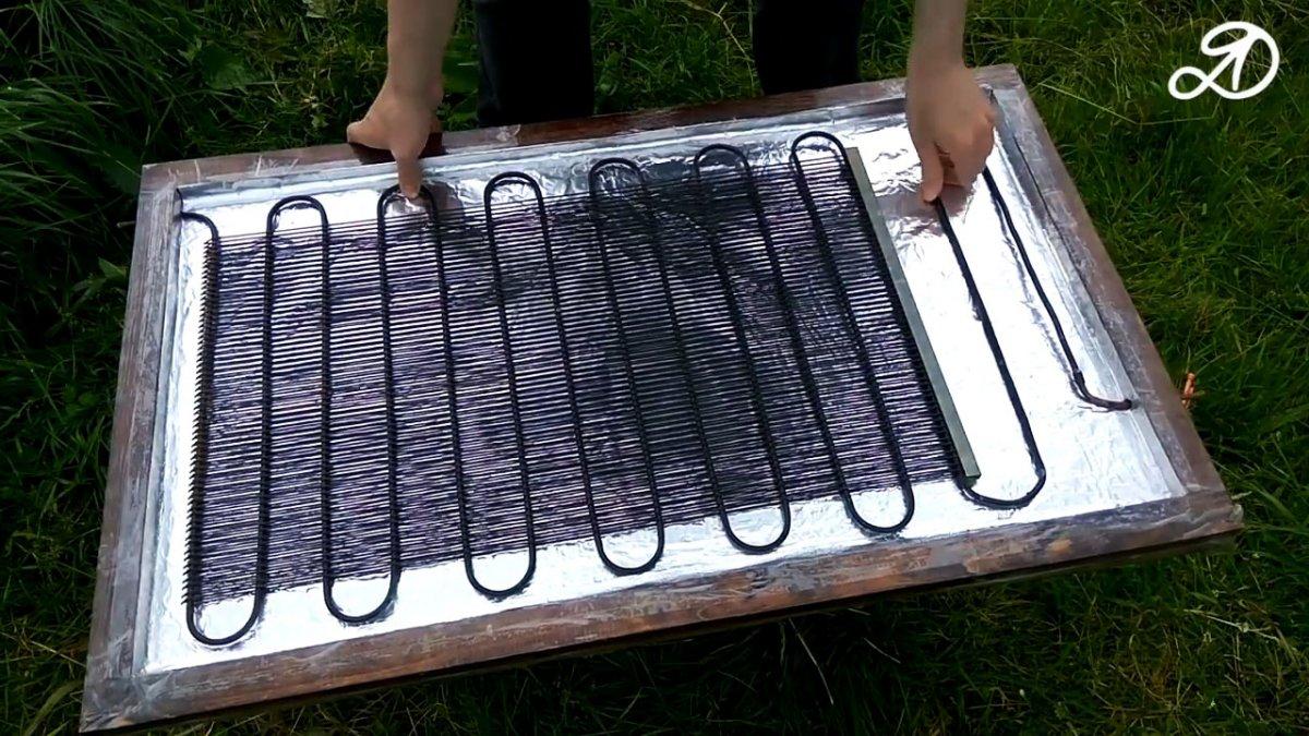 Воздушные солнечные коллекторы своими руками