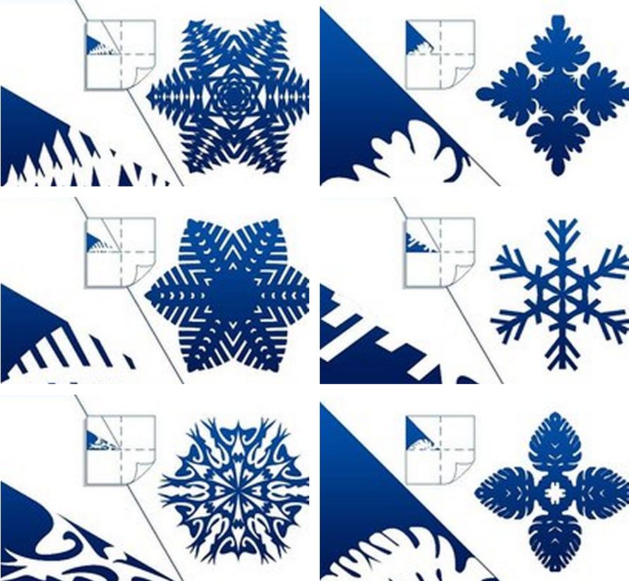 Как сделать красивые снежинки из бумаги - лайфхакер