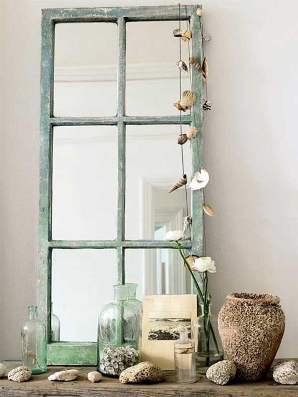 Как восстановить разбитое зеркало. вдыхаем жизнь в старое зеркало