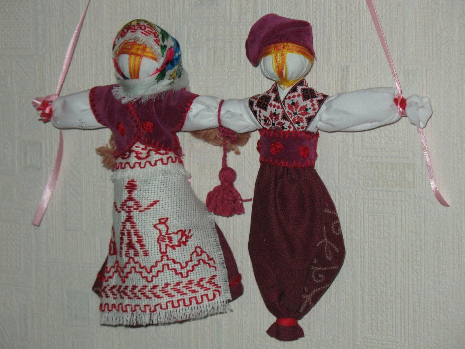 Оберег из ниток. как сделать куклу-мотанку своими руками