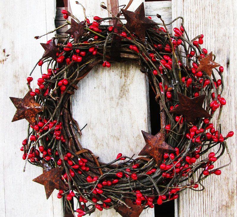Какие ветки использовать для венка. рождественский и новогодний венок из веток своими руками