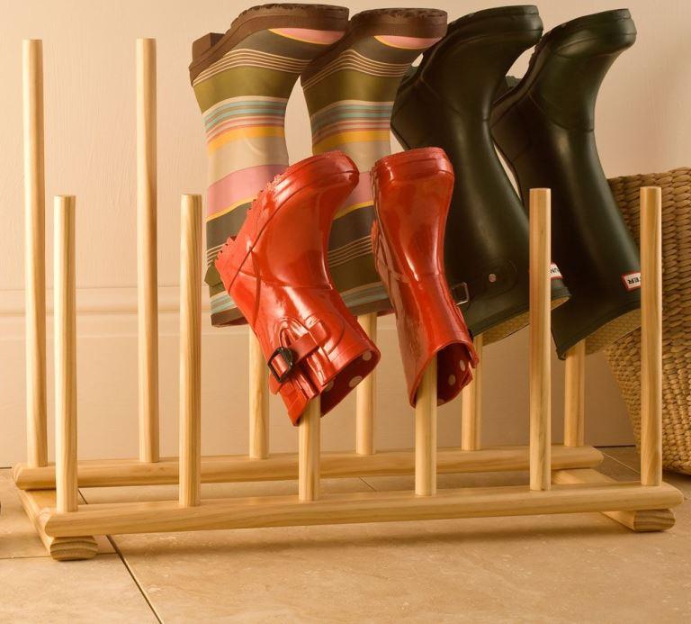 Сушка для обуви из полипропиленовых труб. какие изделия можно изготовить из полипропиленовых труб