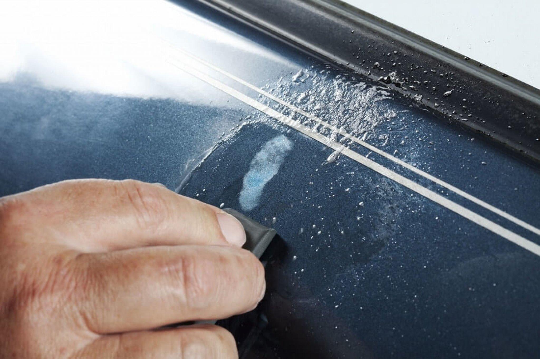 Полировка кузова автомобиля от царапин - варианты решения проблемы