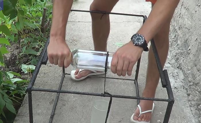 Как ровно отрезать стеклянную банку или бутылку