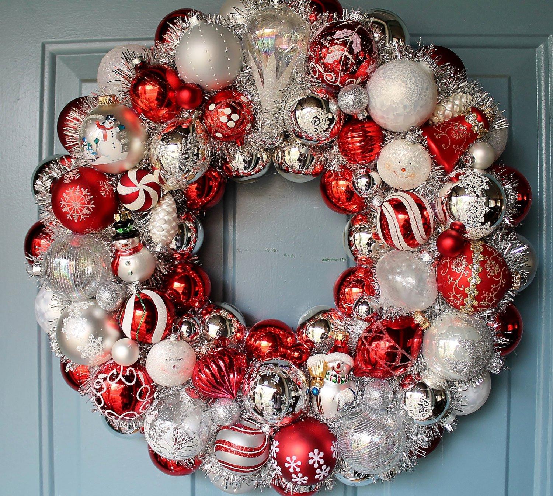 Классический рождественский венок из елки: пошаговые инструкции с фото