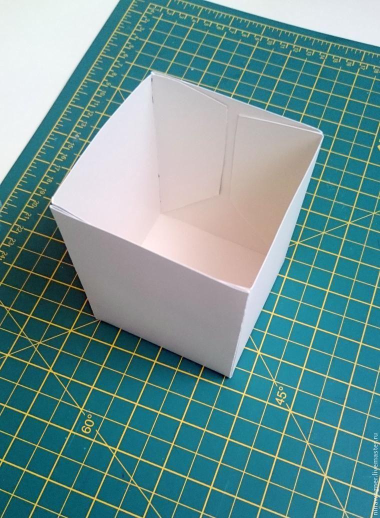 Универсальная коробочка из картона — своими руками