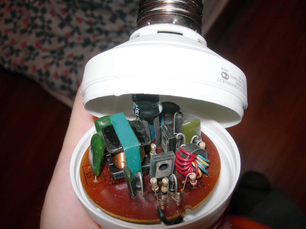 Конструкция и доработка нескольких типов светодиодных ламп