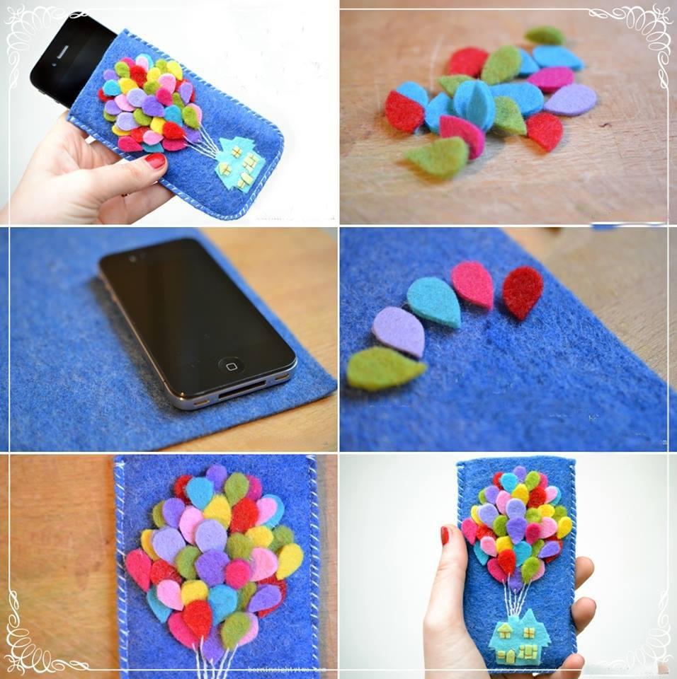 Чехол для телефона своими руками — способы создания, схемы пошива и варианты изготовления стильного чехла (85 фото и видео)