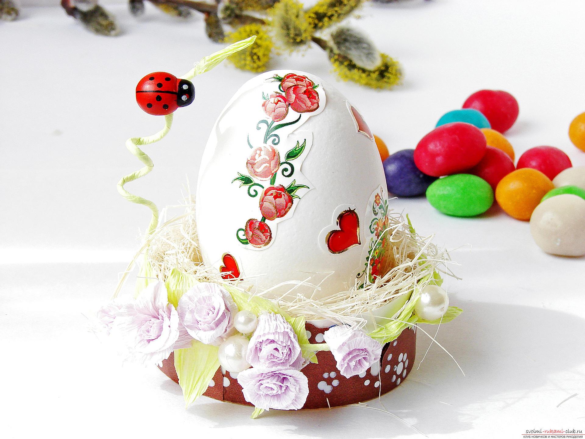 Пасхальные яйца своими руками. как украсить пасхальные яйца