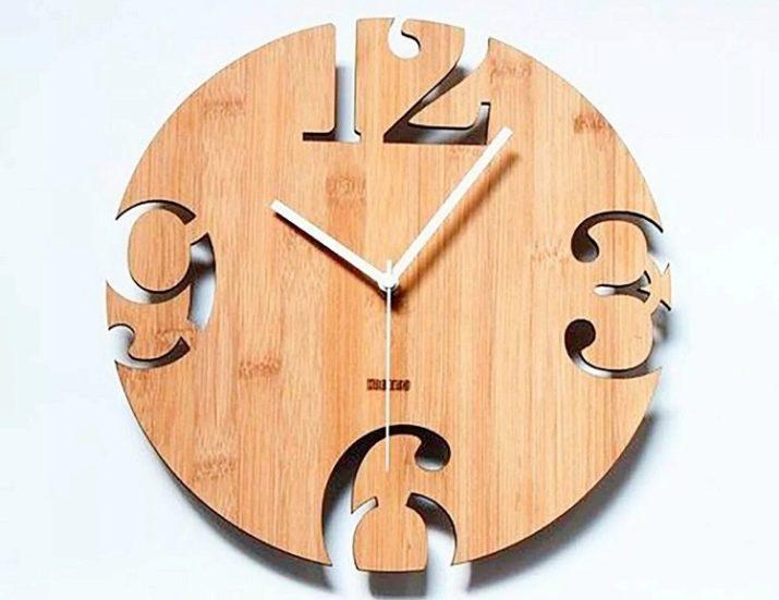 Часы из фанеры своими руками: чертежи на фото, видео