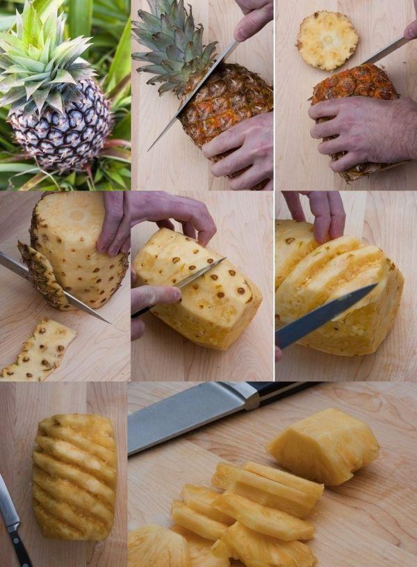 Как правильно чистить ананас в домашних условия: способы как правильно чистить ананас в домашних условия: способы