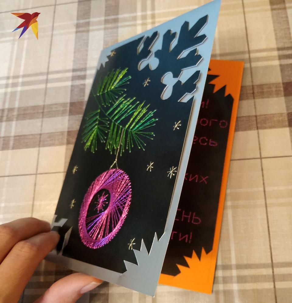 Открытка на новый год своими руками: 100 фото лучших идей для новогодних открыток