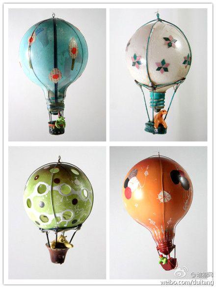 Игрушки из лампочек на новый год своими руками на елку с фото