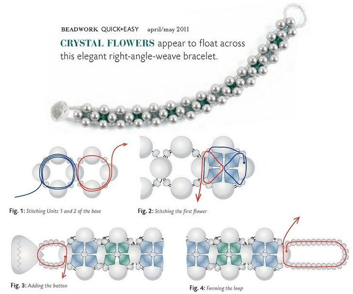 Как сплести простые и сложные браслеты из бисера и бусин?